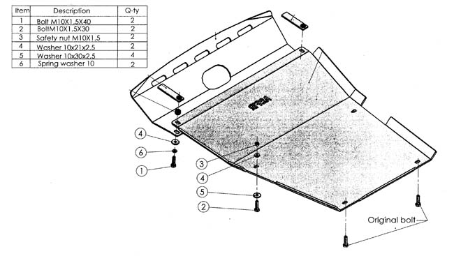 Unterfahrschutz discovery 3 4 range rover sport for Discovery versand gmbh