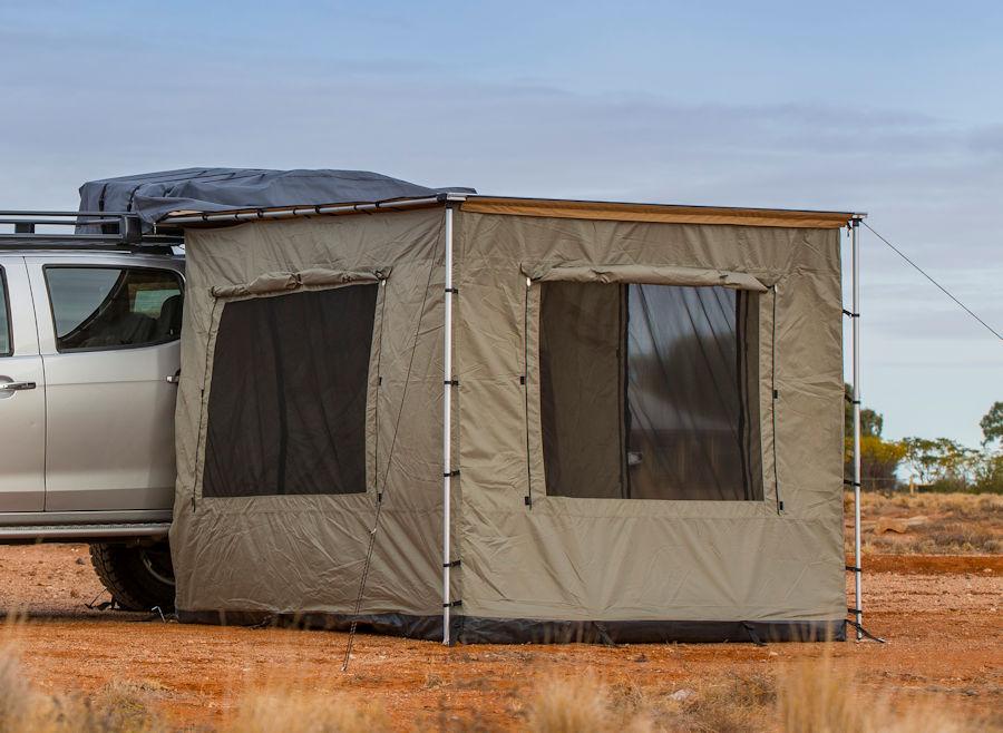 Arb markisenzelt 2500x2100 f r touring 3 4 seitig mit for Fenster outlet