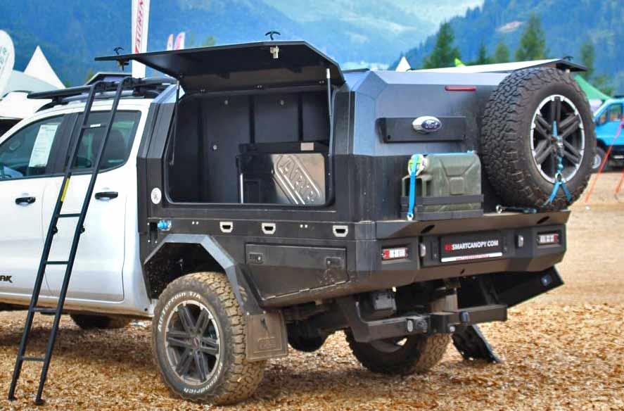 Ford Ranger mit RSI Pritsche und Hardtop