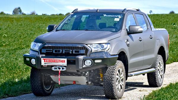 Ford Ranger mit Taubenreuther Zubehör
