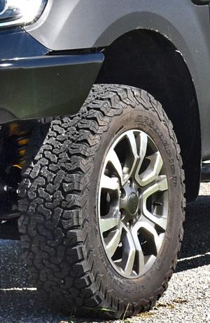 BF Goodrich Reifen Ford Ranger
