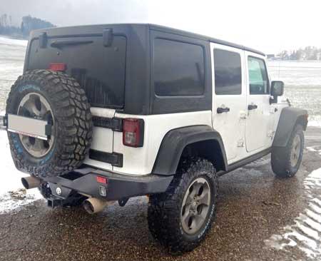 Jeep Wrangler JK mit OME Fahrwerk