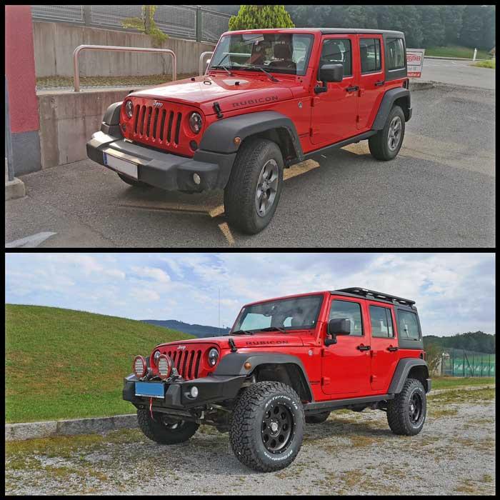 Taubenreuther Umbau Jeep Wrangler JK