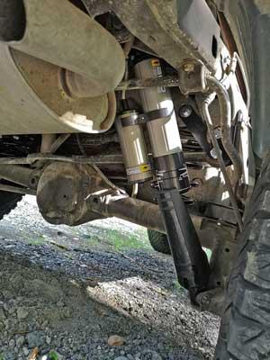 OME Bypass Stoßdämpfer im Jeep Wrangler