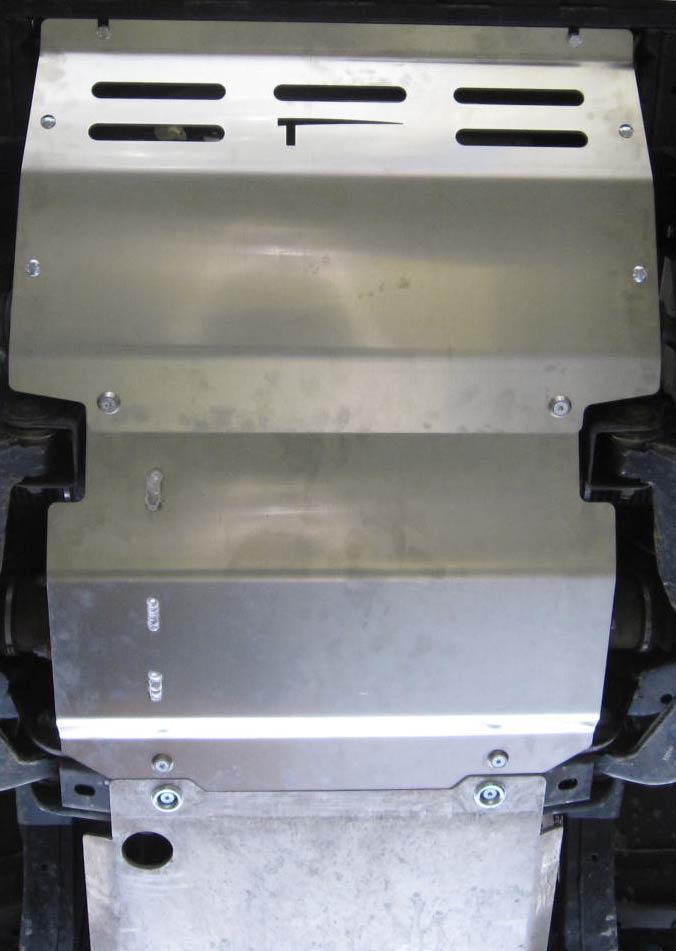 Taubenreuther Unterfahrschutz für den Mitsubishi L200