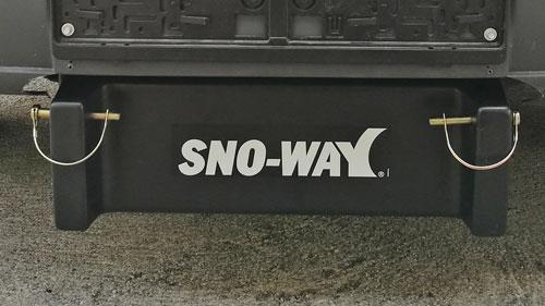 Sno-Way Abdeckhaube