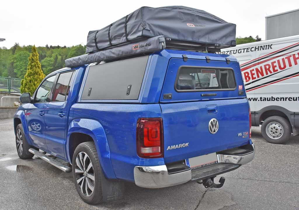 VW Amarok mit Taubenreuther Zubehör