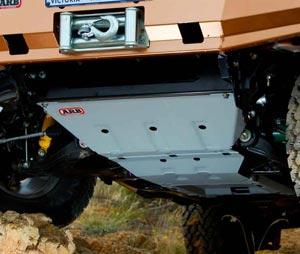 Isuzu D-Max mit ARB Unterfahrschutz