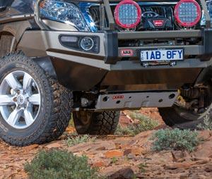 Toyota Land Cruiser mit ARB Unterfahrschutz